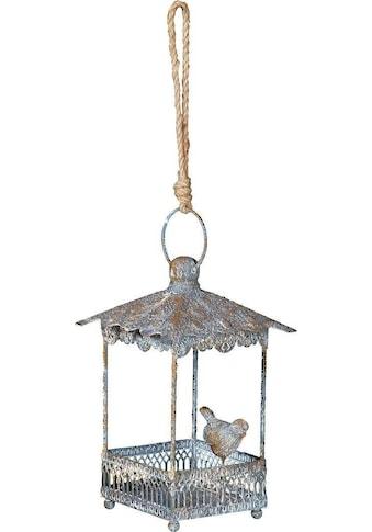 Ambiente Haus Voliere, zum hängen aus Metall - eckig Outdoor geeignet kaufen