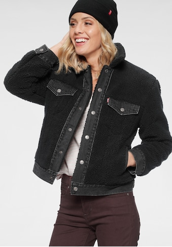Levi's® Fellimitatjacke »Ex  - Boyfriend Pieced Trucker« kaufen