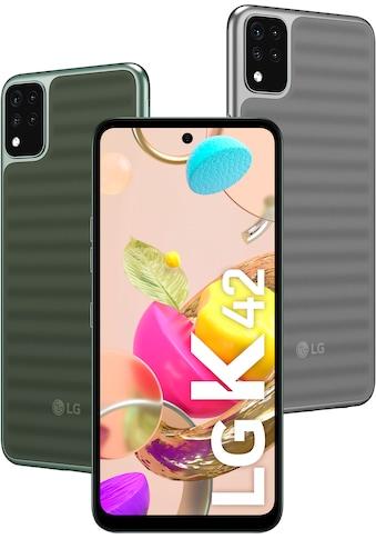 """LG Smartphone »K42«, (16,76 cm/6,6 """", 64 GB, 13 MP Kamera) kaufen"""