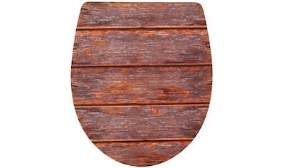ADOB WC-Sitz »Imola Holzdekor«, Mit Absenkautomatik kaufen