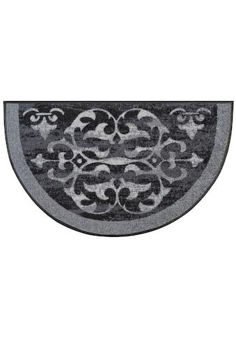 wash+dry by Kleen-Tex Teppich »Round Ornaments«, rechteckig, 7 mm Höhe, In- und... kaufen