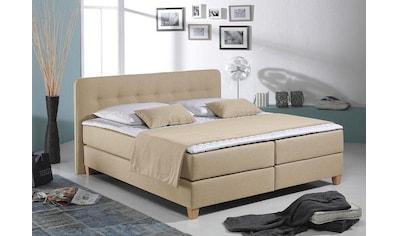 Home affaire Boxspringbett »Fargo XXL«, in Überlänge 220 cm, mit Topper, 3... kaufen