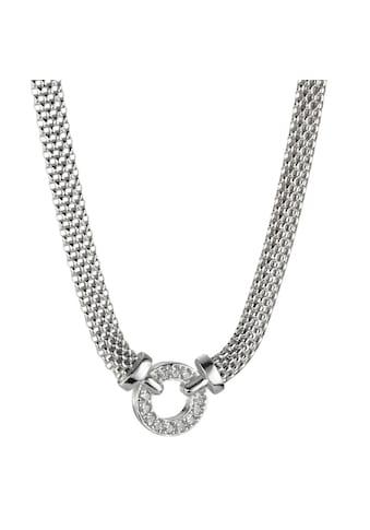 Collier  Halskette 925 mit Zirkonias kaufen