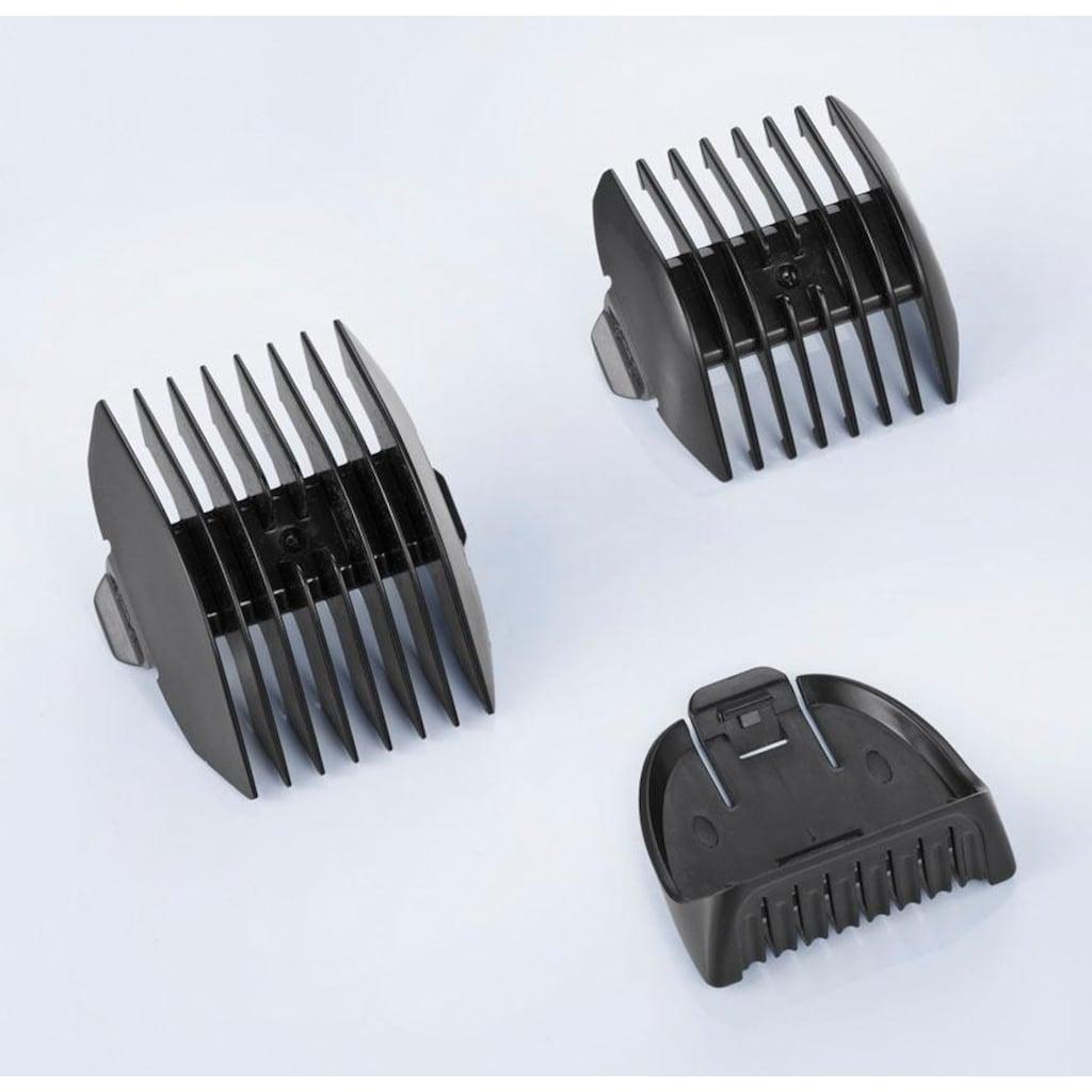 Severin Haar- und Bartschneider »HS 0704«, 2 Aufsätze, Gehäuse mit Soft-Touch-Oberfläche