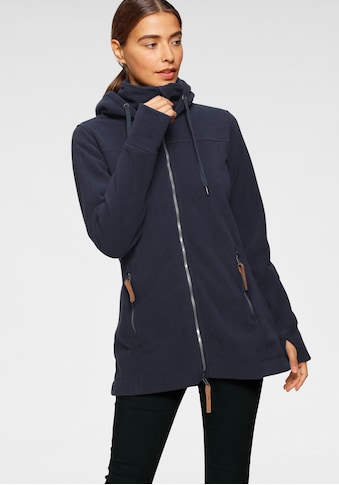 Polarino Fleecejacke, länger geschnitten und kuschelig warm kaufen
