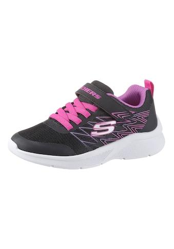 Skechers Kids Sneaker »MICROSPEC«, mit gepolstertem Schaftrand kaufen