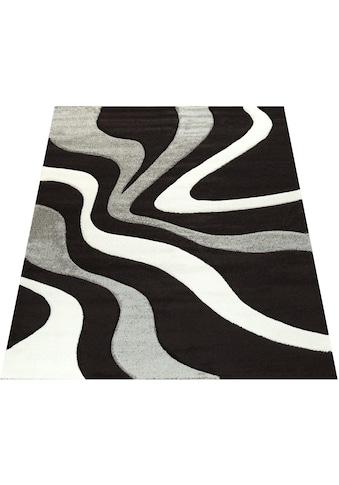 Paco Home Teppich »Diamond 760«, rechteckig, 18 mm Höhe, 3D-Design, Kurzflor mit... kaufen