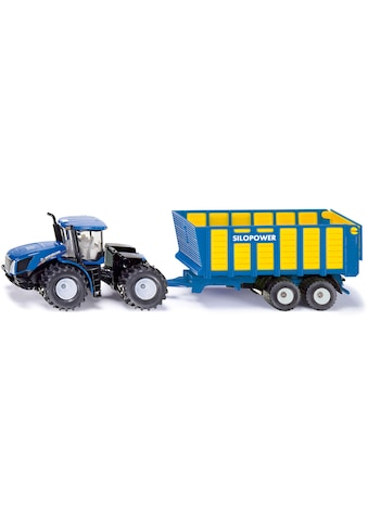 Siku Spielzeug-Traktor »SIKU Farmer, New Holland T mit Silagewagen« kaufen