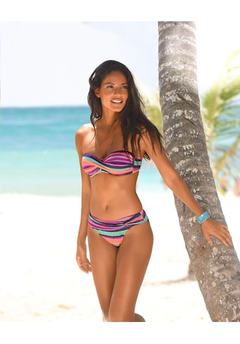 LASCANA Bikini-Hose »Rainbow«, mit Gürtel kaufen