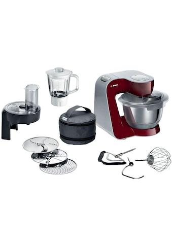 Küchenmaschine, Bosch, »MUM5, 1000 W, rot« kaufen