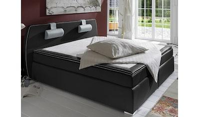 ATLANTIC home collection Boxspringbett, mit Topper und verstellbaren Nackenkissen kaufen