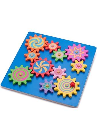 New Classic Toys® Steckpuzzle »Zahnradpuzzle«, aus Holz kaufen