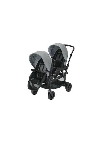 Geschwisterwagen »Modes Duo Shift Grau/Schwarz«, 15 kg kaufen