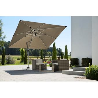 SCHNEIDER SCHIRME Ampelschirm »Monaco«, 300x300 Cm, Ohne Wegeplatten Kaufen