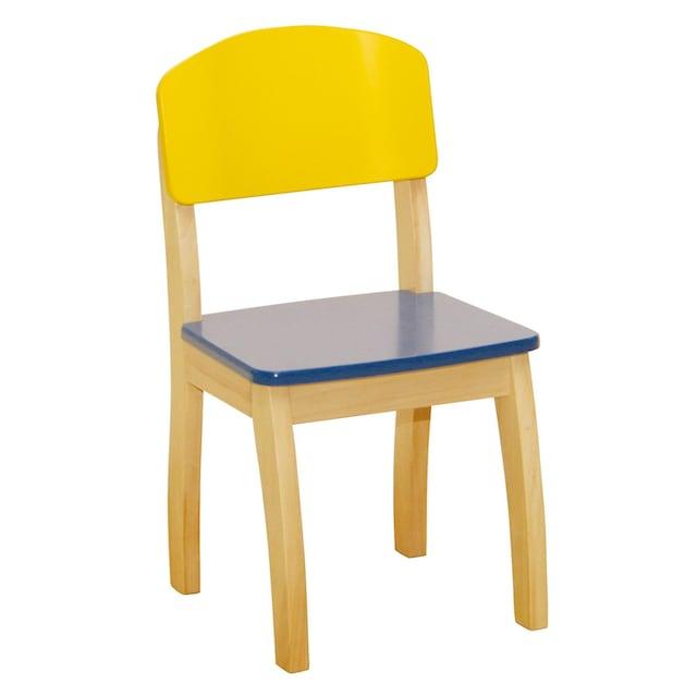 """roba® Stuhl """"Gelb/Blau"""""""