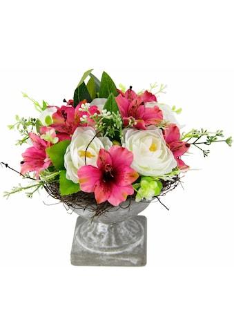 Kunstpflanze »Gesteck Ranunkel in Pokal« (1 Stück) kaufen