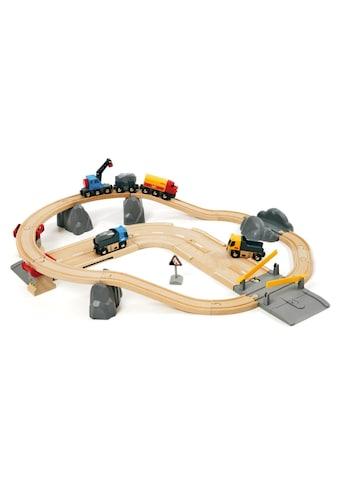 BRIO® Spielzeugeisenbahn-Erweiterung »BRIO® WORLD Strassen & Schienen Steinverlade... kaufen