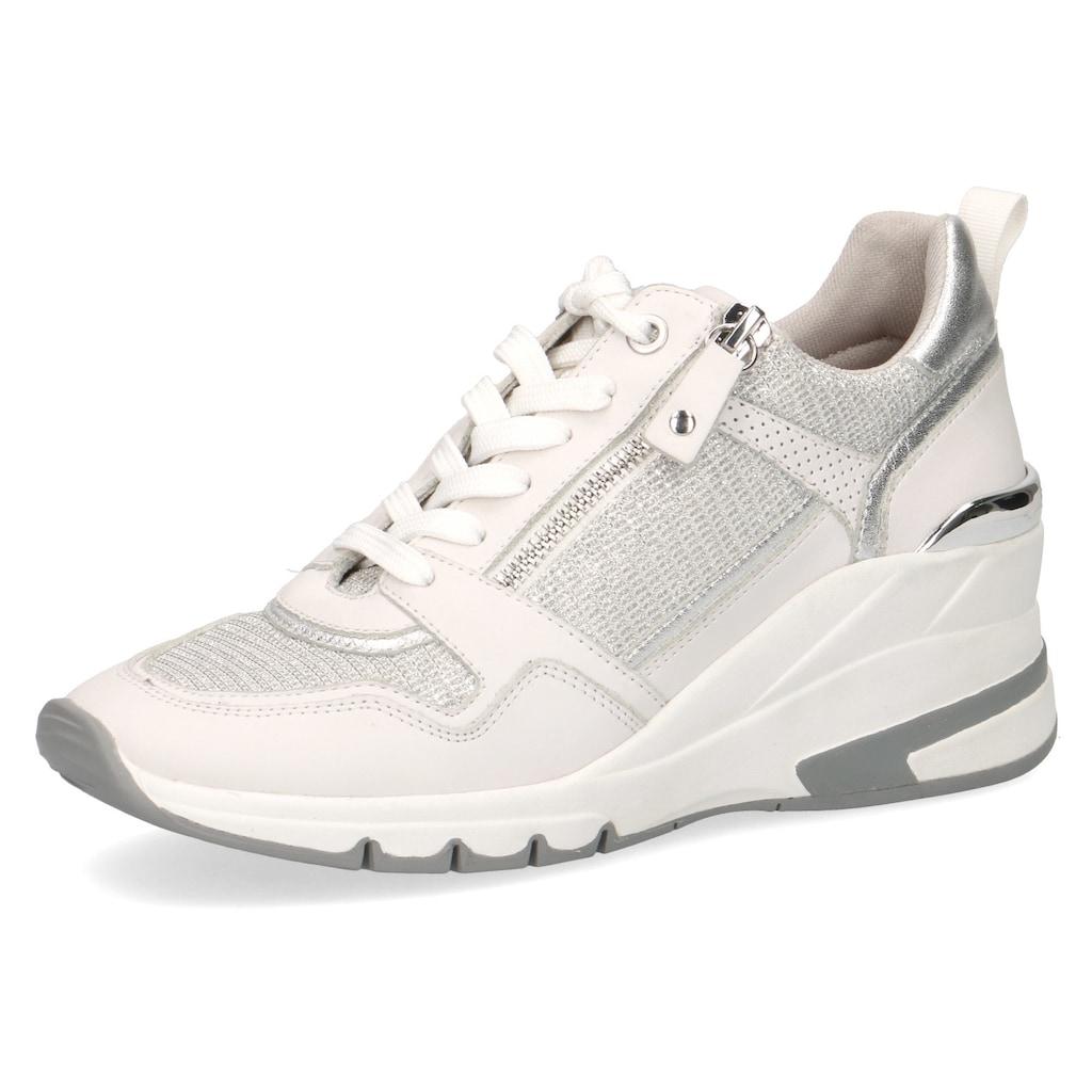 Caprice Wedgesneaker, mit Metallic-Applikation