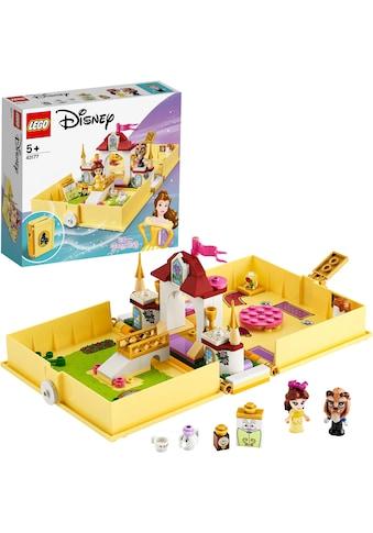 LEGO® Konstruktionsspielsteine »Belles Märchenbuch (43177), LEGO® Disney Princess™«, (111 St.) kaufen