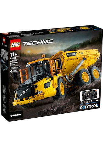 LEGO® Konstruktionsspielsteine »Knickgelenkter Volvo-Dumper 6x6 (42114), LEGO®... kaufen