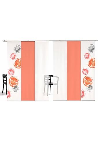 emotion textiles Schiebegardine »Rondo farbig«, HxB: 260x60, inkl. Befestigungszubehör kaufen