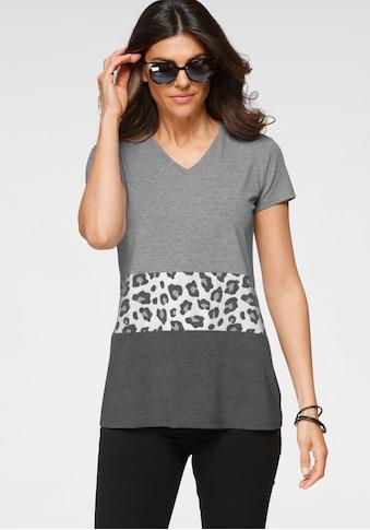 Boysen's Longshirt, mit Animal Print - NEUE KOLLEKTION kaufen