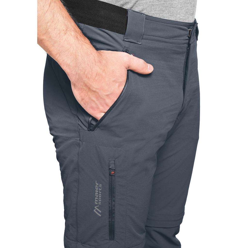 Maier Sports Funktionshose »Norit Zip 2.0 M«, Technische Outdoorhose mit Zipp-Off Funktion