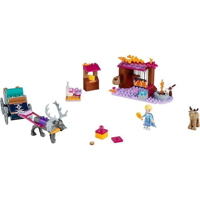 """LEGO® Konstruktionsspielsteine """"Elsa und die Rentierkutsche (41166), LEGO® Disney Princess"""", Kunststoff, (116-tlg.)"""