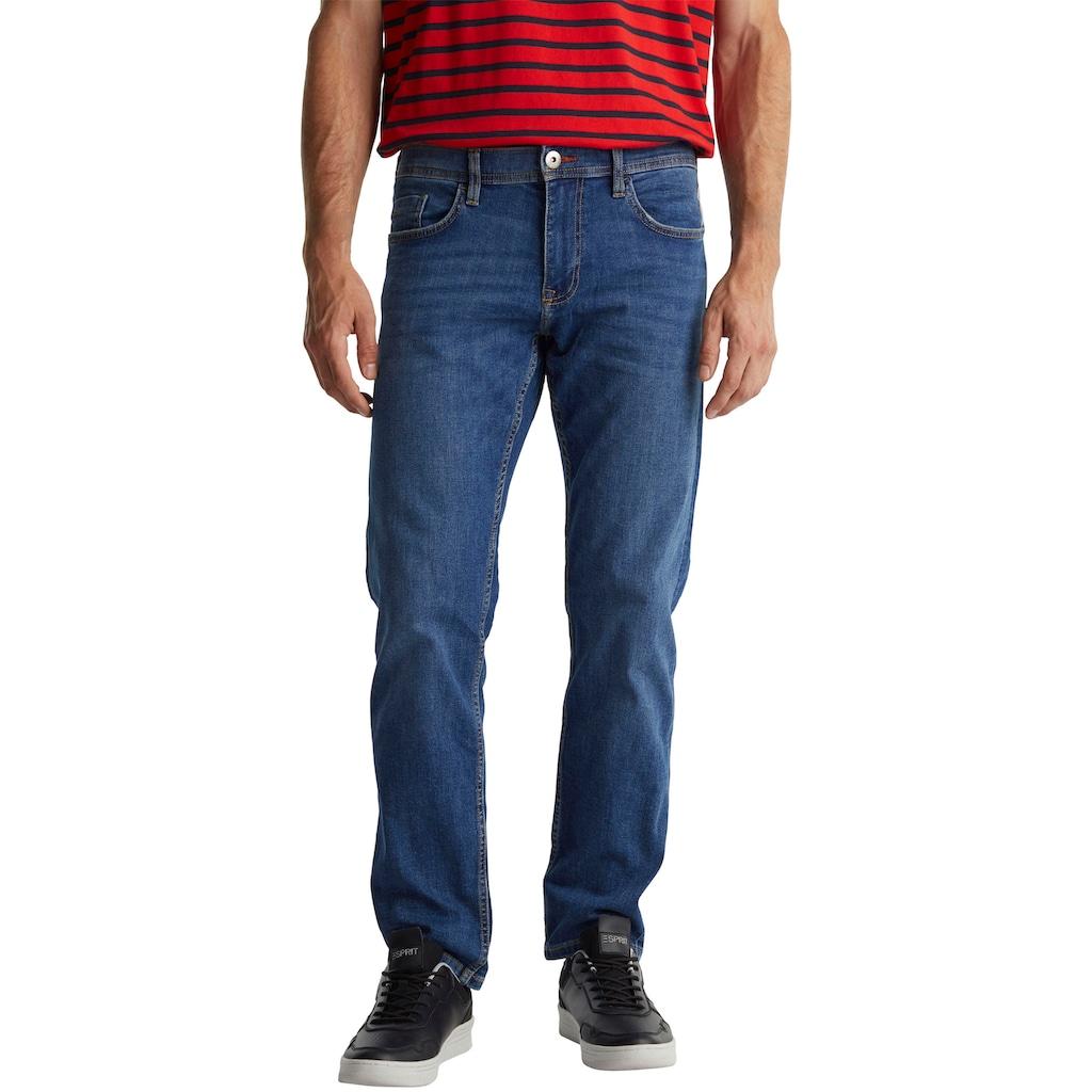 edc by Esprit Gerade Jeans, im 5-Pocket-Style