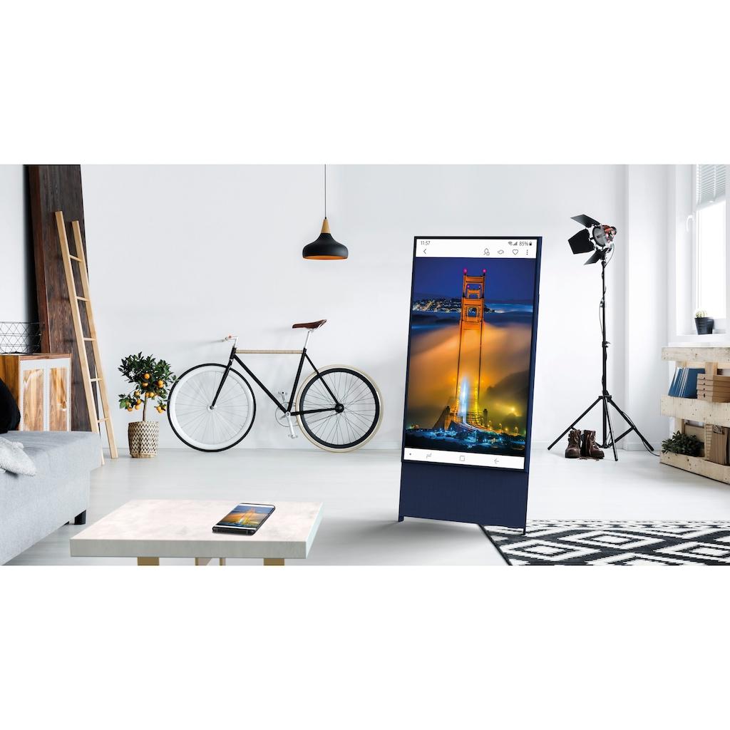 "Samsung QLED-Fernseher »GQ43LS05TAU ""The Sero""«, 108 cm/43 "", 4K Ultra HD, Smart-TV, 360° Drehbarer Bildschirm"