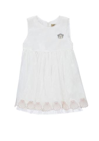 Bellybutton Kleid mit Muschelsaum kaufen
