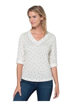 cc72f92ee8fbc2 Ambria Shirt mit Flamingo - Druck kaufen
