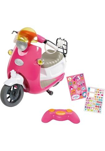 Baby Born Puppen Fahrzeug »City RC Scooter«, zum Fernsteuern kaufen