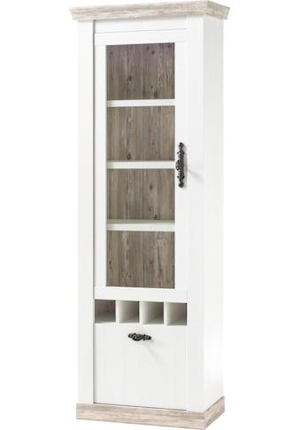 Home affaire Vitrine »Florenz«, im romantischen Landhaus-Look, Höhe 201 cm kaufen