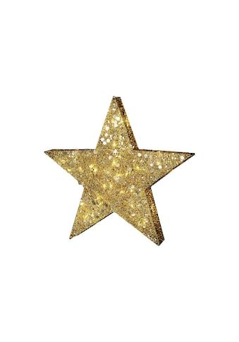 Systemlichterkette »Sequin Ø 70 cm Goldfarben, Outdoor« kaufen