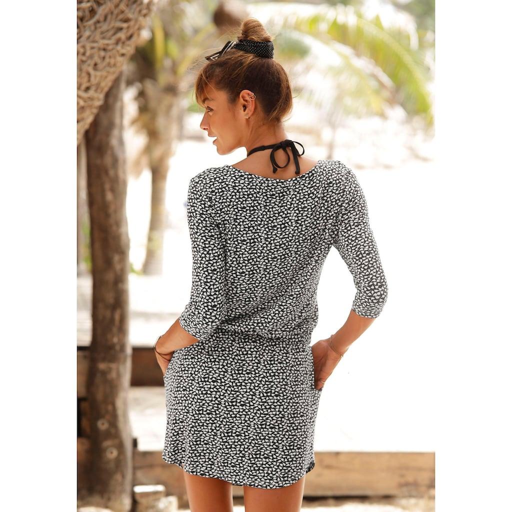 s.Oliver Beachwear Sommerkleid, mit Reissverschluss