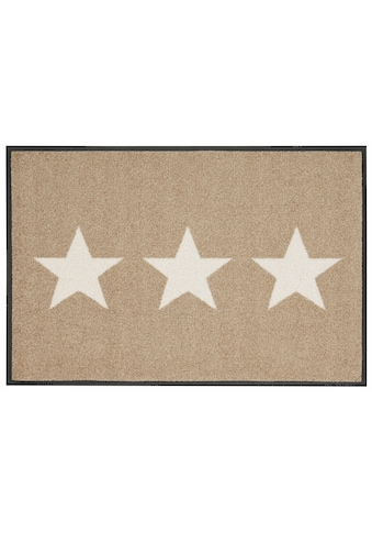 wash+dry by Kleen-Tex Fussmatte »Stars«, rechteckig, 9 mm Höhe, Schmutzfangmatte, In-... kaufen