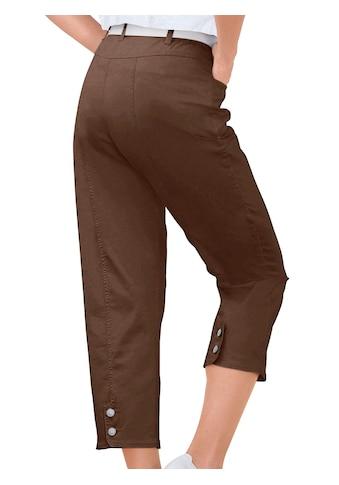 Casual Looks 7/8 Hose mit Schmuckknöpfen kaufen