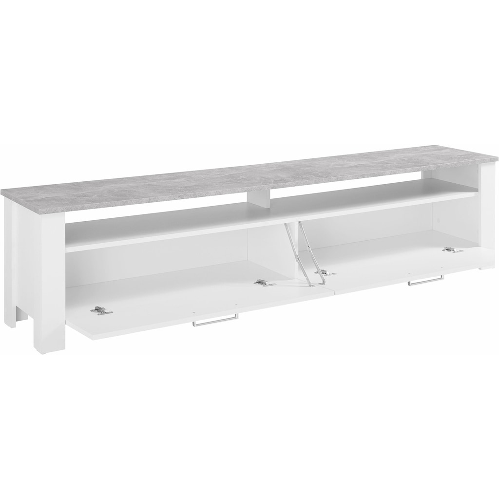 Homexperts Lowboard »Zabona«, Breite 200 cm