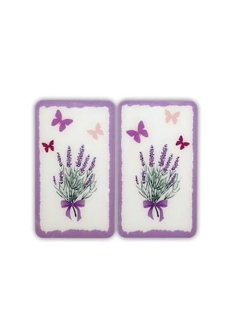 """WENKO Herd - Abdeckplatte """"Lavendel - Bouquet"""", Glas, (Set) kaufen"""
