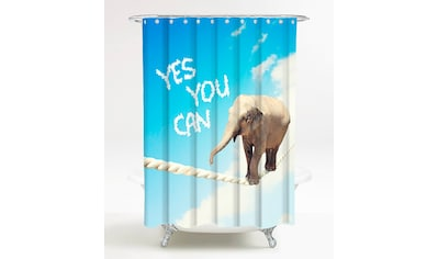 Sanilo Duschvorhang »Yes you can«, Breite 180 cm kaufen