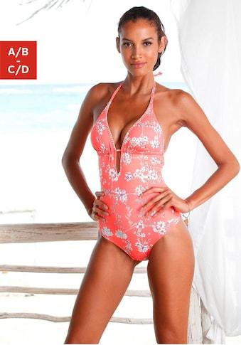 Sunseeker Badeanzug »Ditsy«, mit Häkelkante kaufen