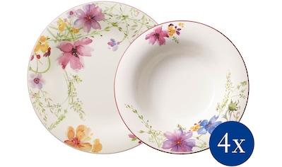 Villeroy & Boch Tafelservice »Mariefleur Basic«, (Set, 8 tlg.), verspieltes Blumendekor kaufen