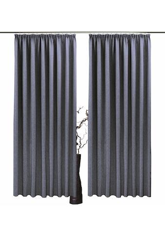 Vorhang, »Una«, VHG, Kräuselband 2 Stück acheter