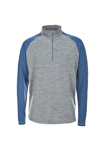 Trespass Sweatshirt »Herren Hex Langarm-Top mit Reissverschluss bis zur Brust« kaufen
