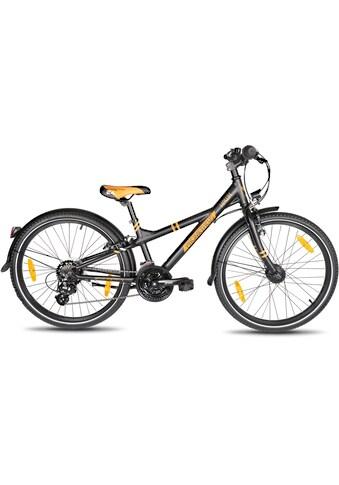 PROMETHEUS BICYCLES Jugendfahrrad »BLACK Hawk«, 21 Gang Shimano Shimano ALTUS Kettenschaltung Schaltwerk, Kettenschaltung acheter