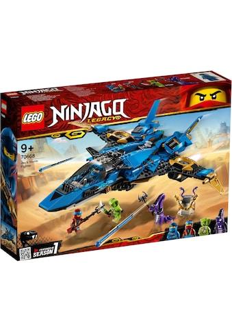 "LEGO® Konstruktionsspielsteine ""Jays Donner - Jet (70668), LEGO® NINJAGO®"", Kunststoff, (490 - tlg.) acheter"