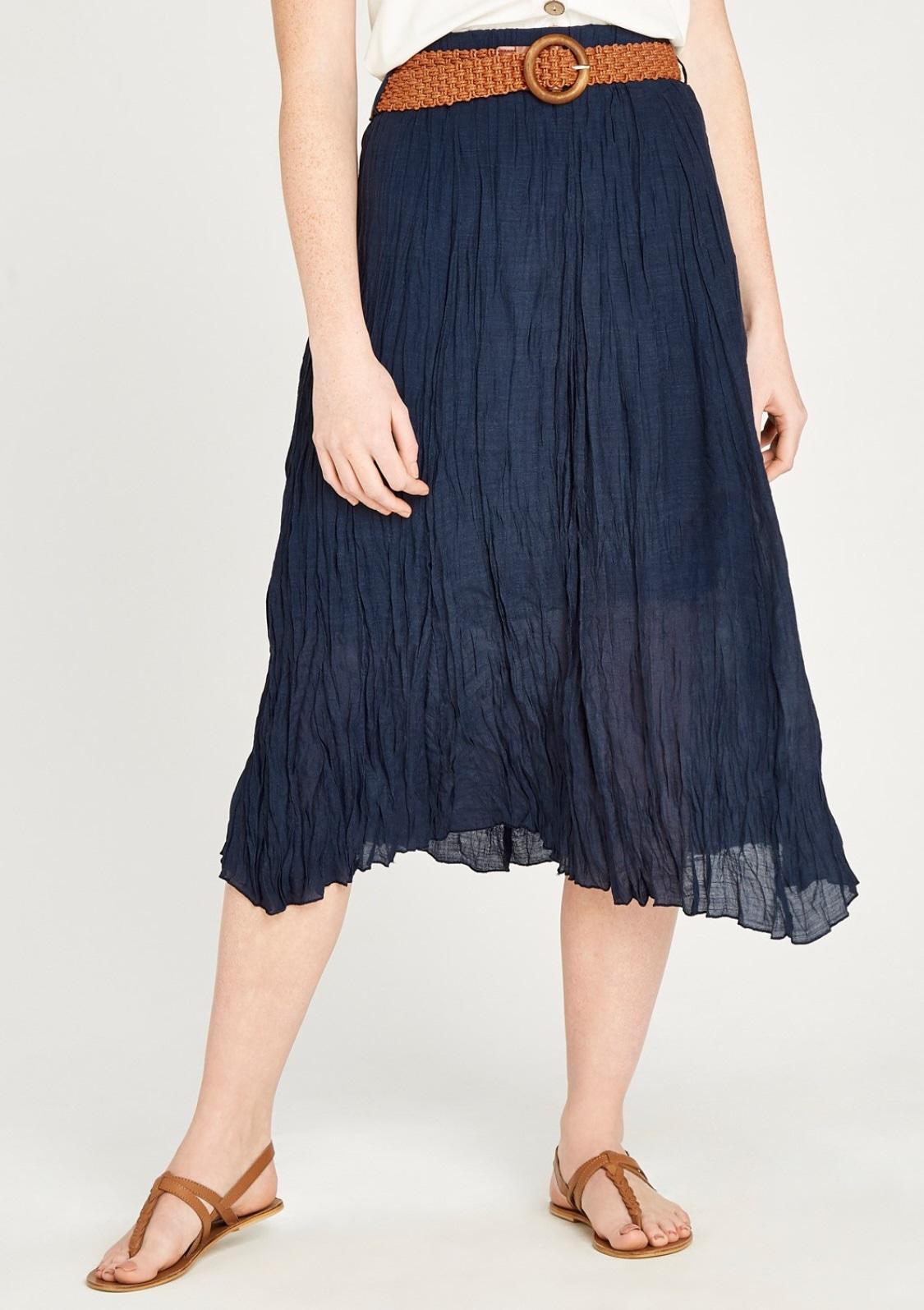Image of Apricot Crinklerock »Shimmer Crinkle Belted Skirt«
