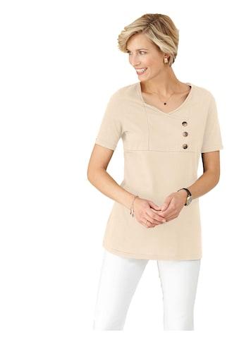 Classic Basics Shirttunika mit asymmetrisch angeordneten Zierknöpfen kaufen