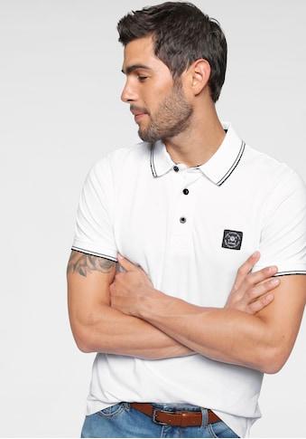 TOM TAILOR Polo Team Poloshirt, mit Markenlabel kaufen